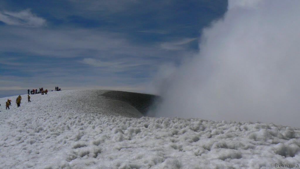 Volcan actif: ascension du Villarrica au Chili