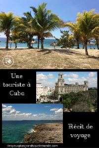 Une touriste à Cuba - Récit de voyage
