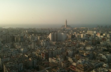 Photo de casablanca du haut du Twin Center