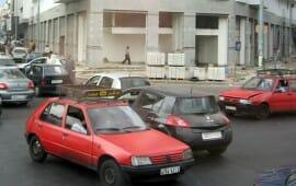 Petits taxis à Casablanca