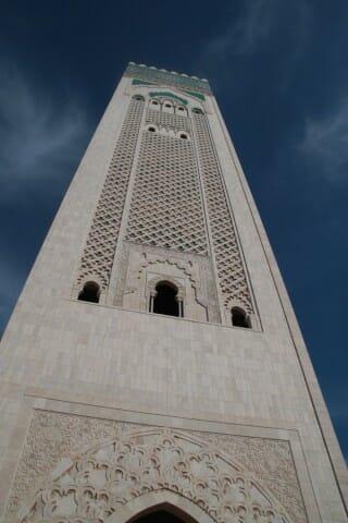 Minaret de la Mosquée Hassan II - Casablanca
