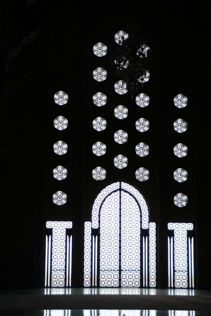 Vitrail - Mosquée Hassan II - Casablanca