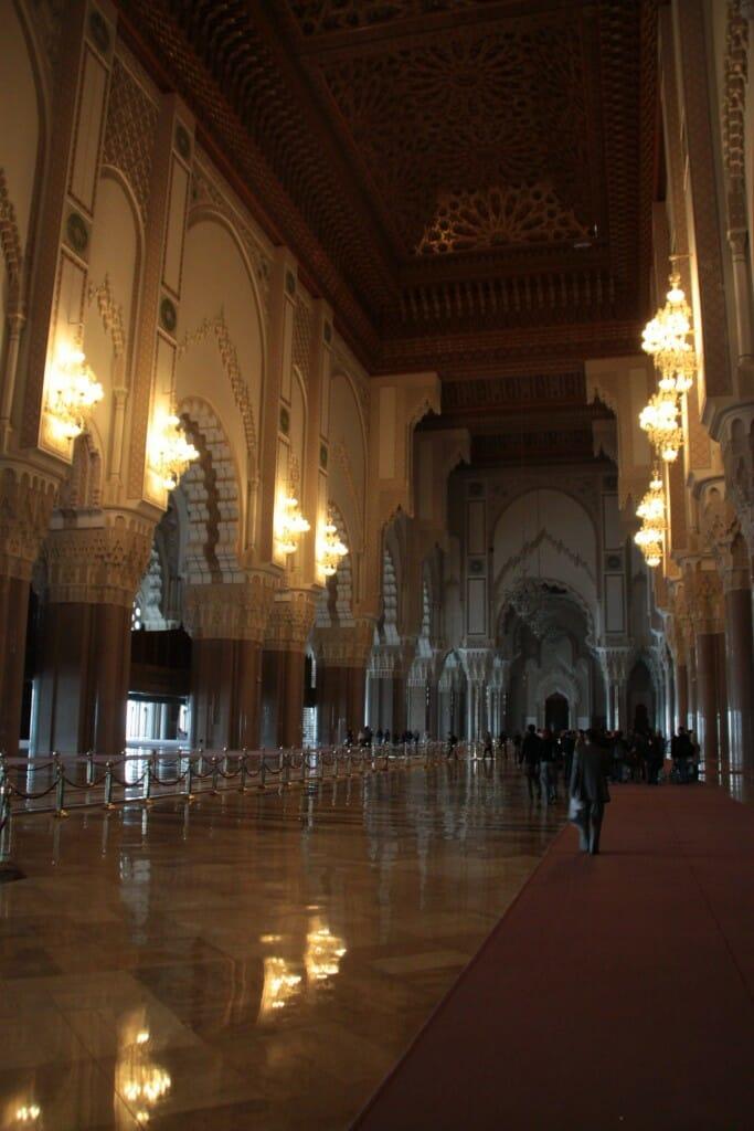 Salle de prière - Mosquée Hassan II - Casablanca
