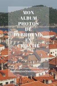 Mon album photo de Dubrovnik
