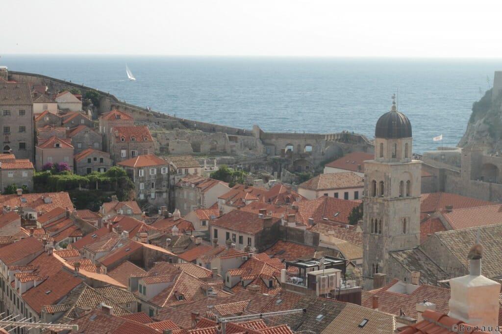 Vue de Dubrovnik des remparts - Benoit Richer