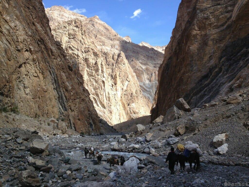 Trek au Zanskar en Himalaya - Canyon - Benoit Richer