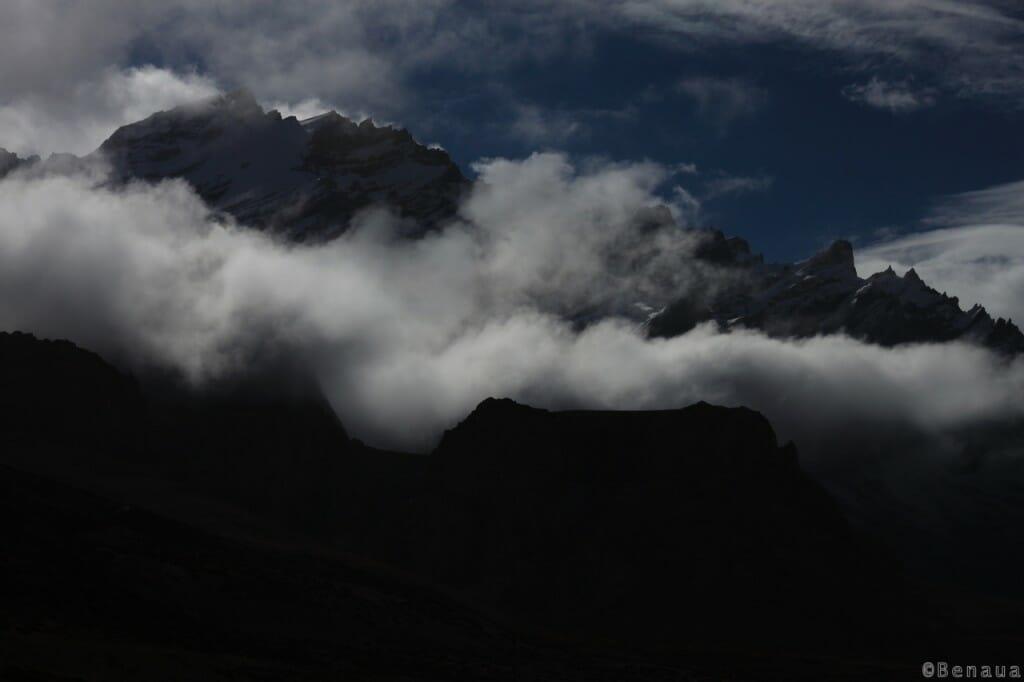 Trek au Zanskar en Himalaya - Dans les nuages - benoit richer