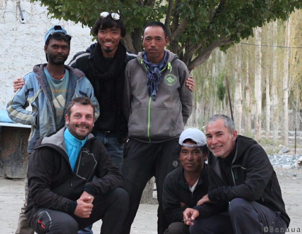 Trek au Zanskar en Himalaya - Equipe au complet