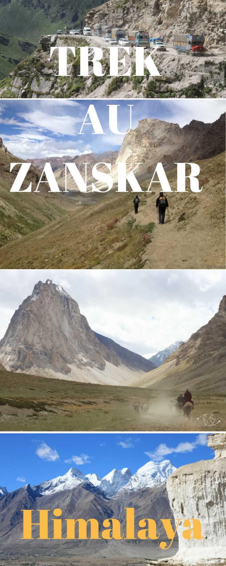 Tout le détail de mon trek au Zanskar en Himalaya, les journées incontournables de ces 3 semaines de marche, des photos et des informations pour l'organiser.