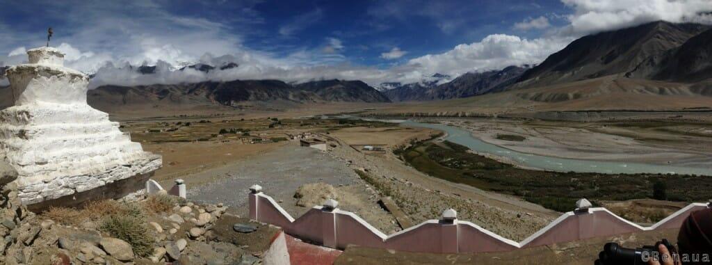 Trek au Zanskar en Himalaya - Vue sur la vallée de Padum - Benoit Richer