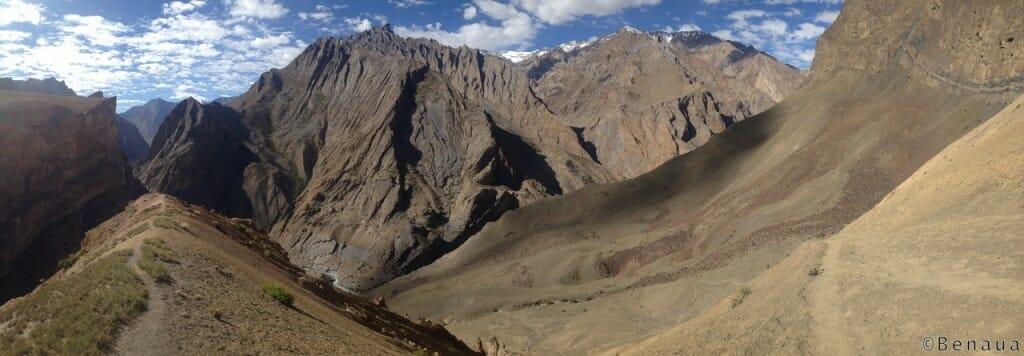 Trek au Zanskar en Himalaya - Vue des Montagnes - benoit richer