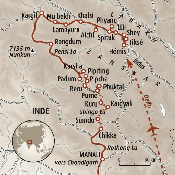 Trek au Zanskar en Himalaya