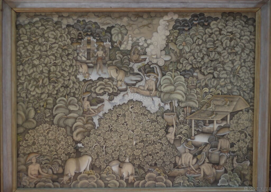 Musée Neka - Peinture traditionnelle Balinaise