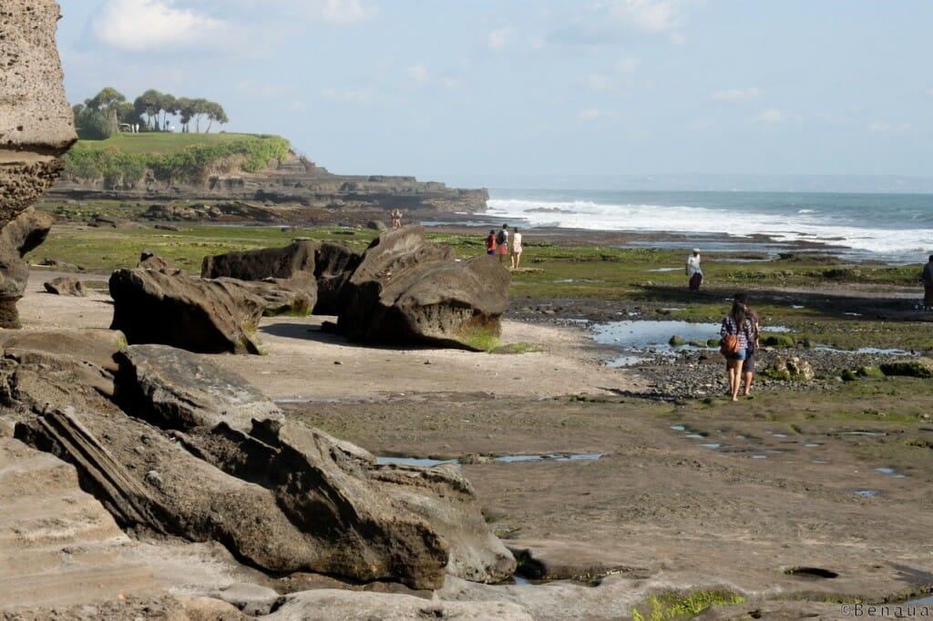Bali en Indonésie - plage du Tanah Lot Temple