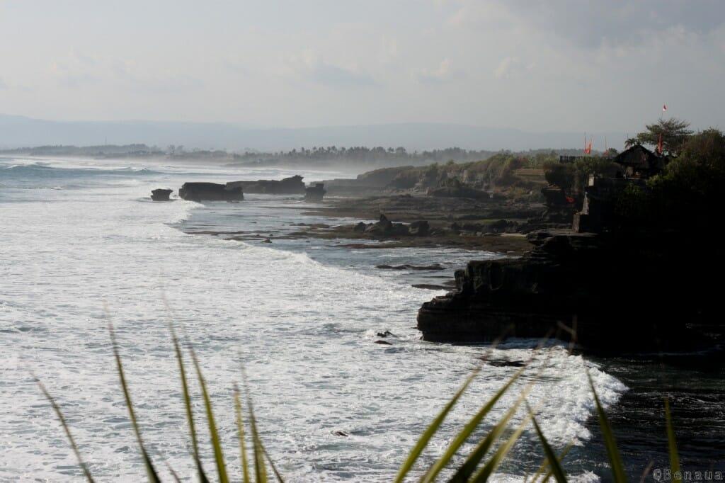 Bali en Indonésie - Vue du Tanah Lot Temple
