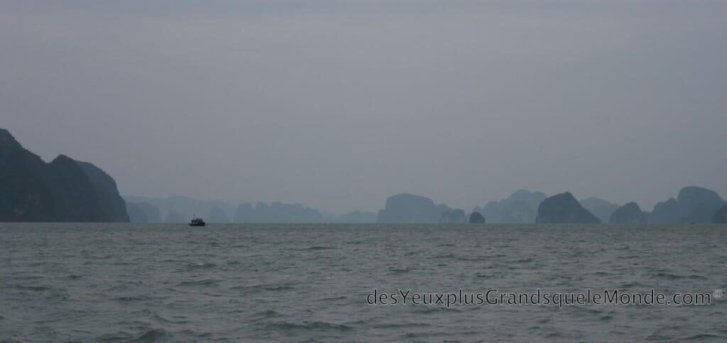 Baie d'Halong - En route pour Quan Lan