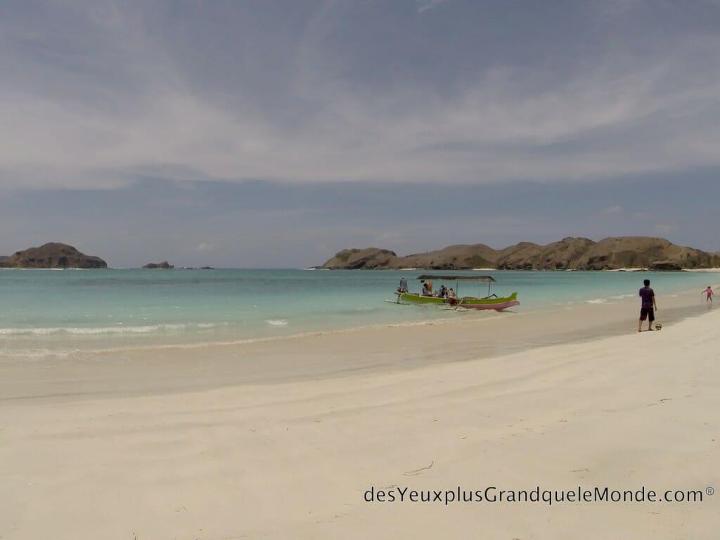 Les 5 plages de Lombok à ne pas manquer - Plage de Tajun Aan à Lombok