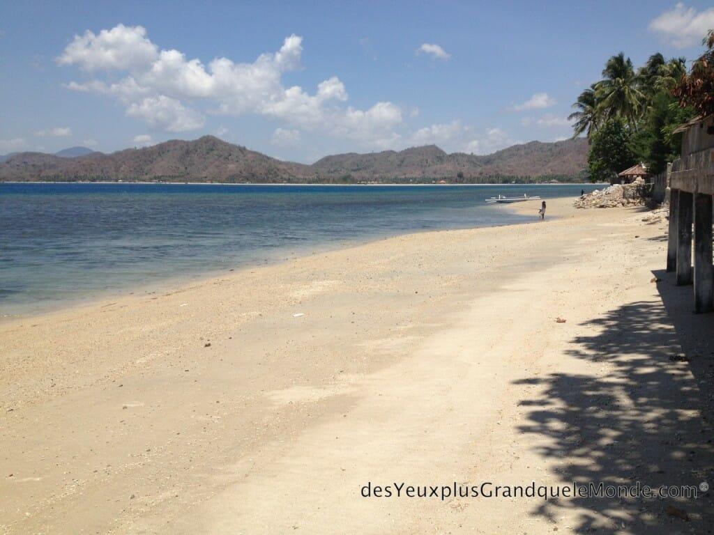 5 plages de Lombok à ne pas manquer - Vue de la plage de rêve de Sekotong