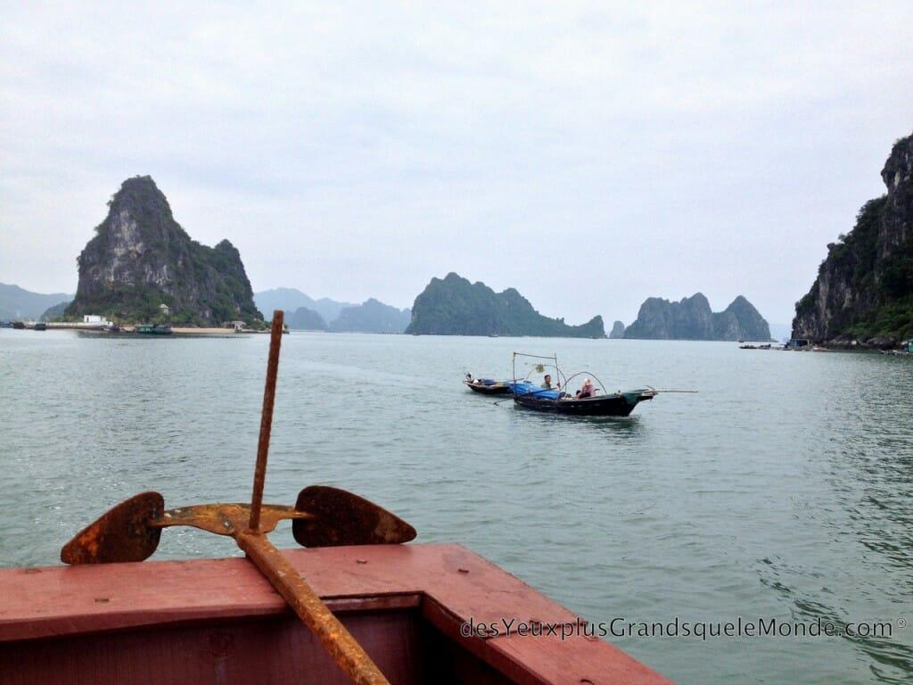 Vietnam en moto - Baie de Tu Long et l'île de Quan Lan
