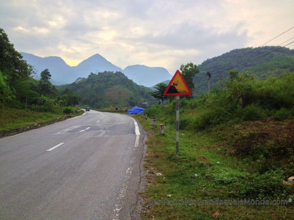 Vietnam en moto - Vers Maï Chau