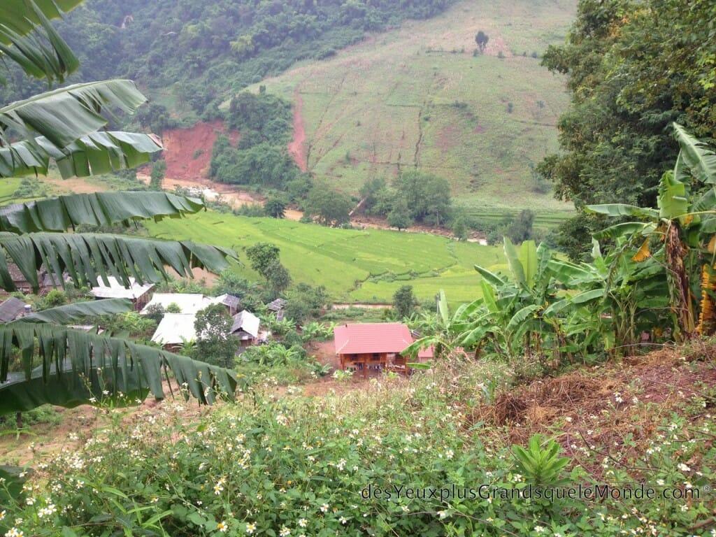 Vietnam en moto - Village perdu
