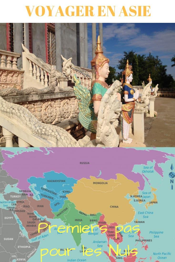 Voyager en Asie : « premiers pas » pour les nuls.