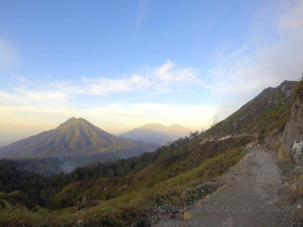Lever de soleil au Volcan Ijen