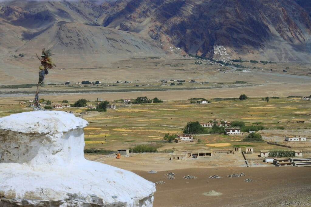 Monastères bouddhistes au Zanskar en Himalaya - Campagne près de Padum