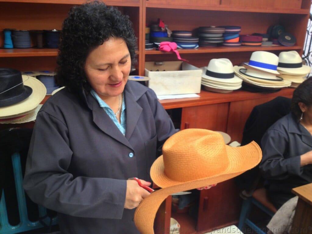 Fabriquer votre Panama en Equateur - Luz de l'entreprise Barranco