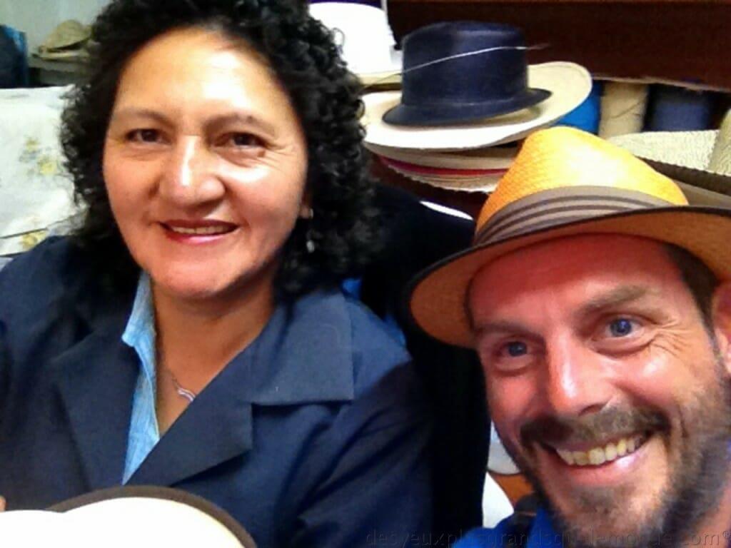Fabriquer votre Panama en Equateur - Luz et moi