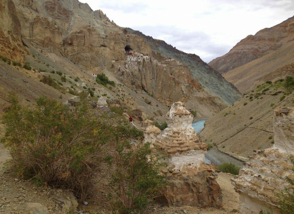 Monastère Phuktal au Zanskar