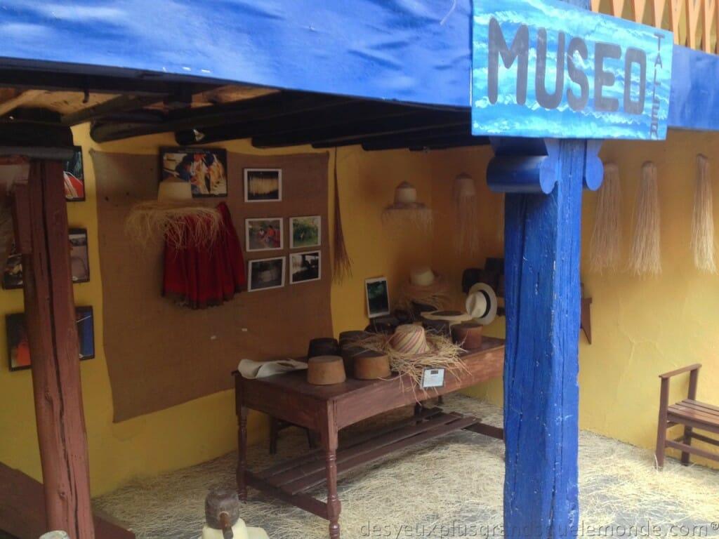 Fabriquer votre Panama en Equateur - Musée Barranco