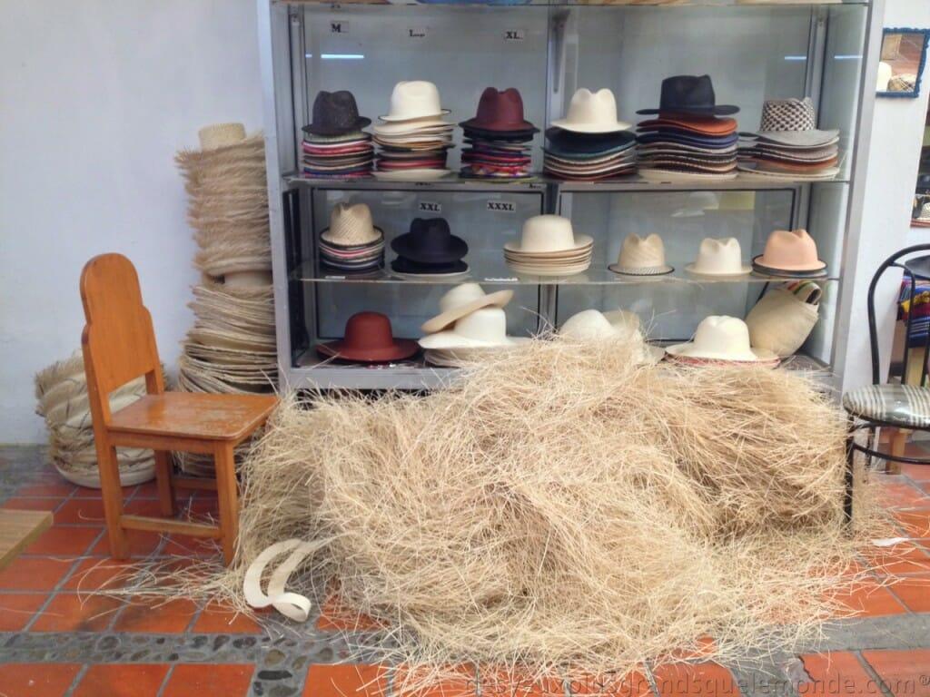 Fabriquer votre Panama en Equateur - Musée