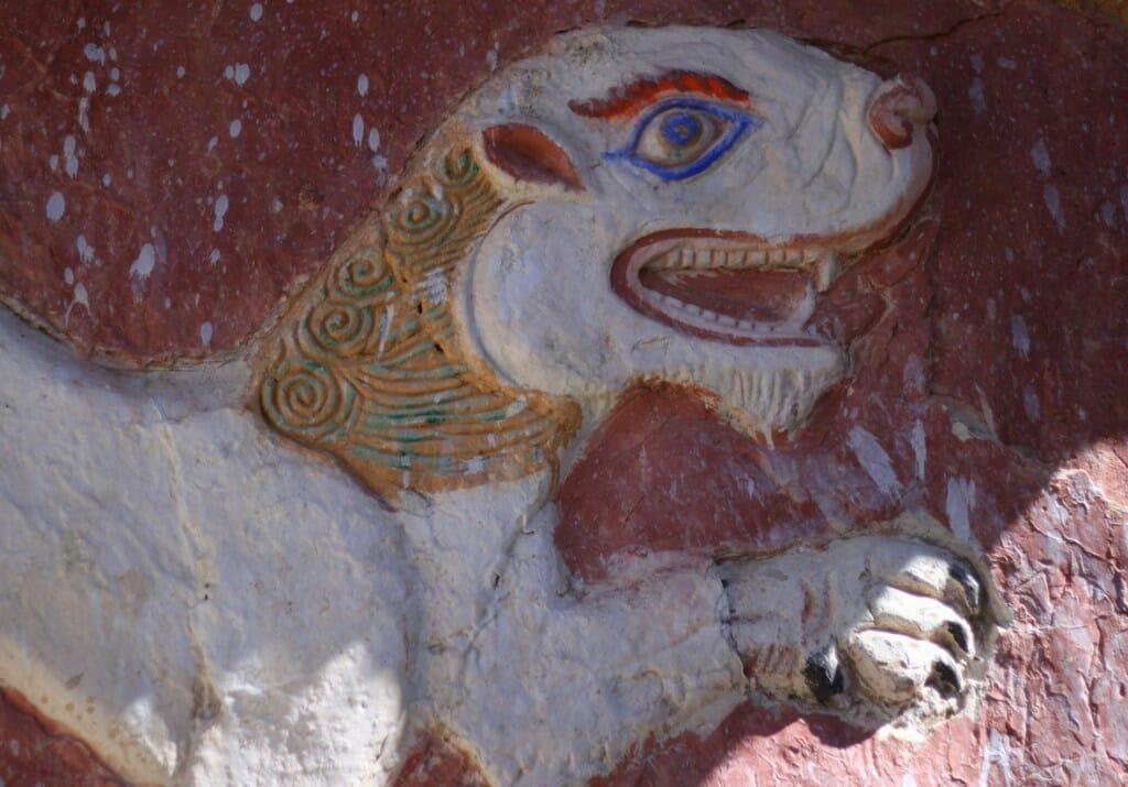 Monastères bouddhistes au Zanskar en Himalaya - Peinture murale de Lamyuru