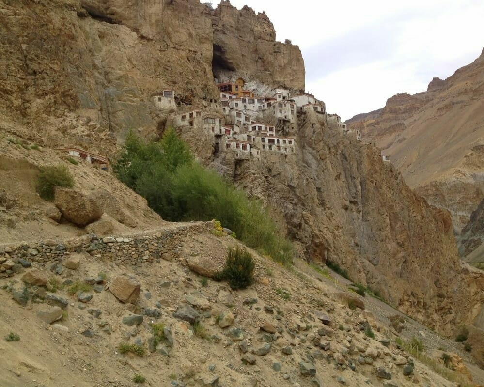 Monastères bouddhistes au Zanskar en Himalaya - Phuktal