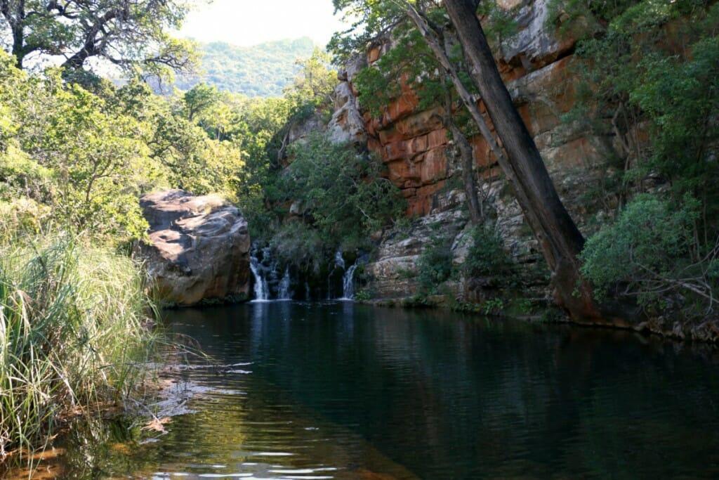 Blyde River Canyon - Baignade sur leLeopard Trail