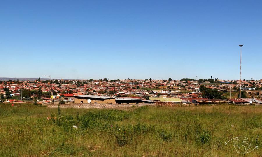 Récit de voyage : dans le train pour Soweto (South Western Township)