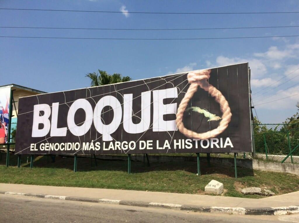 Expérience de voyage à Cuba - Propagande à Cuba