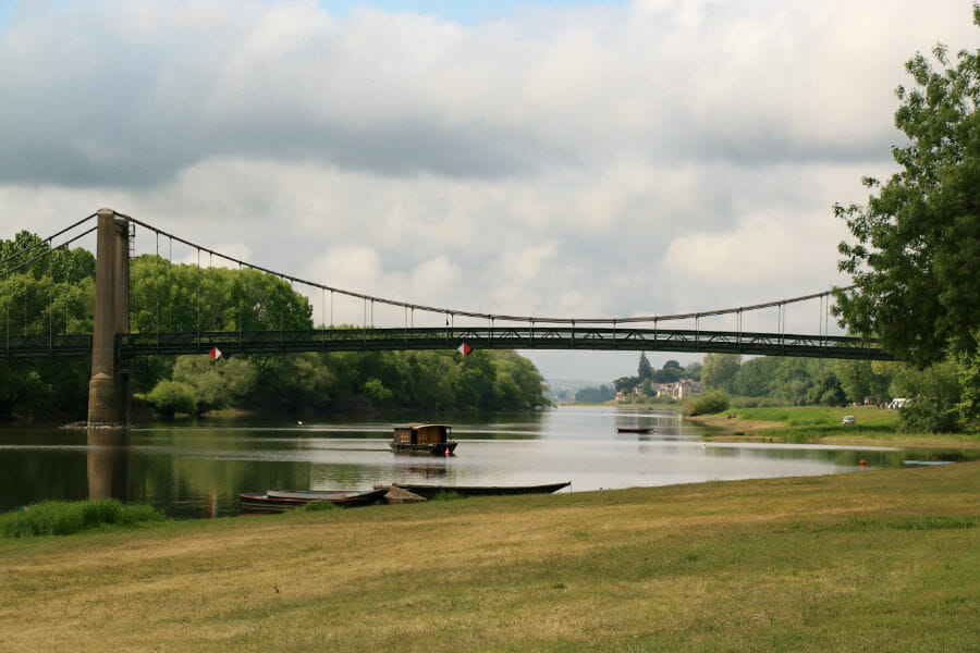 Un week-end en Anjou - Vue de la Loire à Bouchemaine