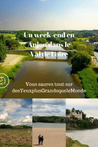 Un week-end en Anjou dans le Val de Loire - infos, bons plans