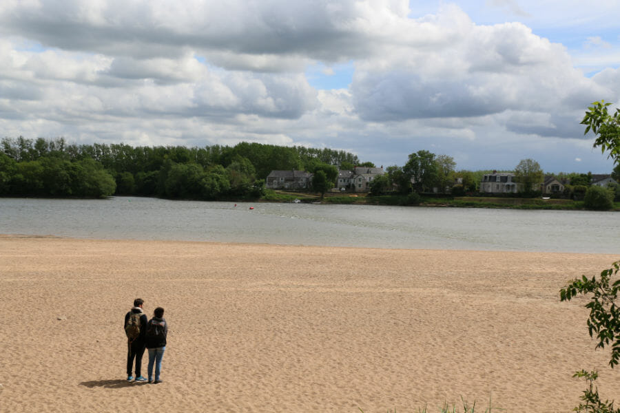 Un week-end en Anjou - Plage de Loire