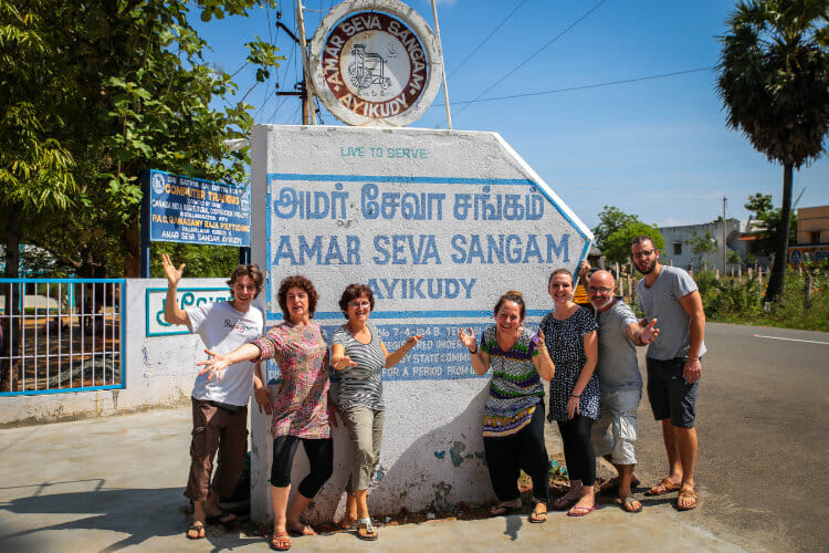 Volontariat avec l'Association les Enfants Papillons - Les volontaires 2017 en Inde