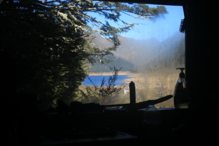 A l'intérieur de la cabane de Rangers de Murchison