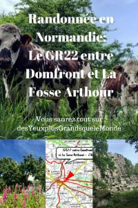 Randonnée en Normandie_ Le GR22 entre Domfront et La Fosse Arthour