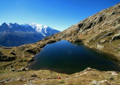 Tour de France des natures et terroirs - Lac dans les Alpes