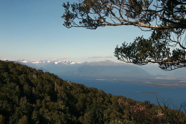 Vue des montagnes de Murchison en Nouvelle Zélande
