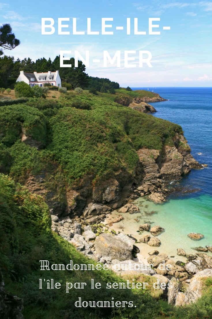 Belle-Ile-en-Mer : randonnée autour de l\'île par le GR340