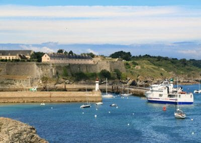 Belle-Ile-en-Mer - Fort Vauban et port du Palais