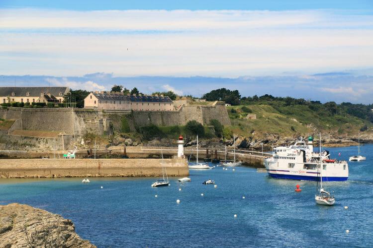 Belle-Ile-en-Mer - Fort Vauban et port du Palais