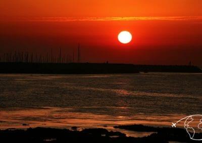 Coucher de soleil - Port Joinville L Ile d Yeu